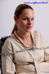 how to put on a straitjacket